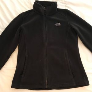 Black North Face Fleece Size Medium